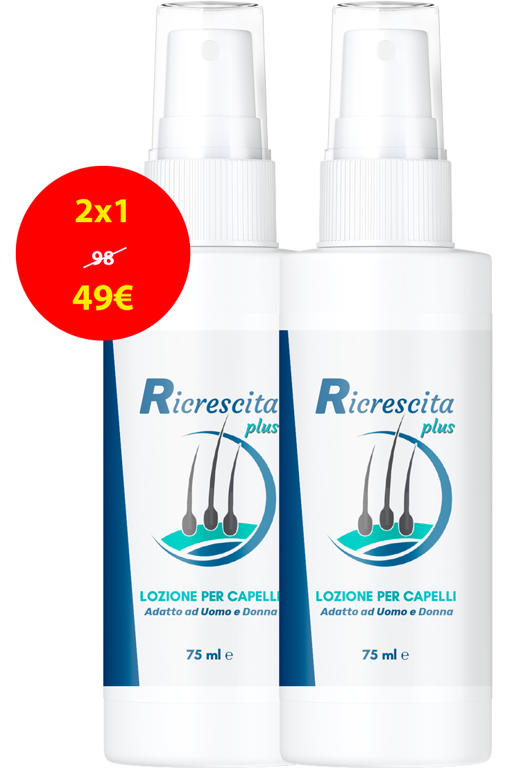 Ricrescita Plus, prezzo, funziona, forum, Italia, recensioni, opinioni